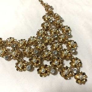 Gold Floral Necklace ❤️